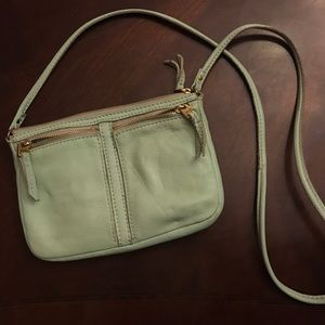 Fossil Purse - Mint Green Used